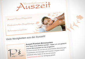 Auszeit Newsletter News